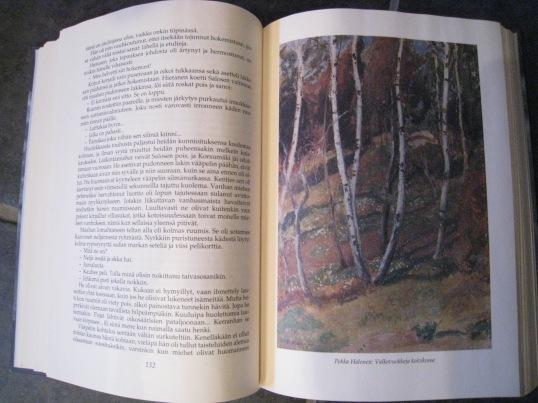 Painos on kuvitettu suomalaisen taiteen klassikoilla.