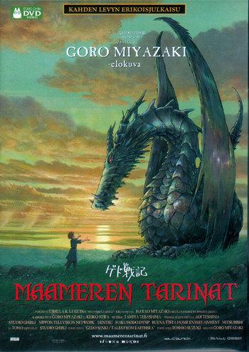 Hayao Miyazakin pojan Gorō Miyazakin ohjaama leffa oli ihan ok mutta ei tajunnanräjäyttävä. Leffassa on yhdistelty kirjasarjan sisältöä vähän sieltä täältä ja yritetty tehdä omanlainen kokonaisuus, mikä sinänsä on ihan kiinnostava yritys, mutta ... Leffan suosio taisi jäädä aika vähäiseksi.