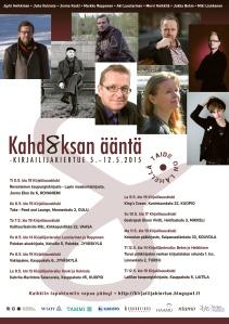 Maanantaina ja tiistaina kiertue käväisee vielä Kouvolassa, Turussa ja Laitilassa. Vielä ehtii mukaan kiertuefiilikseen. ;)
