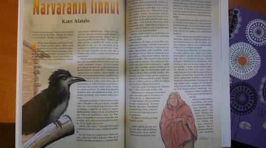 Novelli Portissa 2/2013. Kuvitus J. Murtosaari.